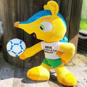 2014 FIFA World Cup Brazil Plush Toy Armadillo